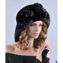 Шляпа из меха норки/каракульча